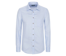 Aktuelles Trachtenhemd in Hellblau