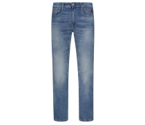 5-Pocket Jeans mit Stretchanteil, Anbass, Slim Fit