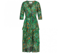 Midi-Kleid HAPPY mit floralem Print