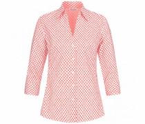 Bluse aus Baumwolle mit 3/4-Arm