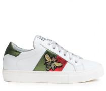 Sneakers mit Bienen-Patch