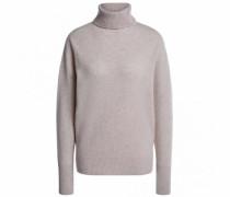 Pullover mit Cashmere-Anteil und Rollkragen