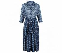 Kleid mit orientalischem Blumenprint