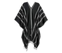 Poncho aus Baumwolle - Schwarz