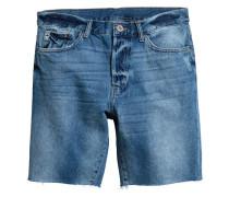 Jeansshorts - Blau