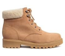 Boots mit Teddyfutter - Beige