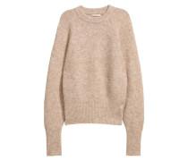 Pullover aus Mohairmix - Beige
