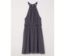 Kurzes Kleid - Dunkelgrau