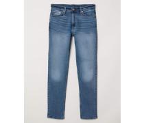 Slim Jeans - Blau
