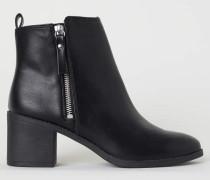 Ankleboots - Schwarz