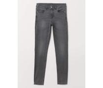 Super Skinny Regular Jeans - Grau