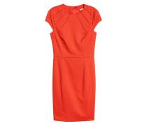 Kurzes Kleid - Orange