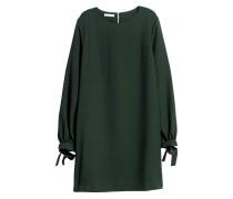 Kurzes Kleid - Dunkelgrün