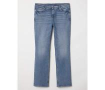 Bootcut Regular Jeans - Blau