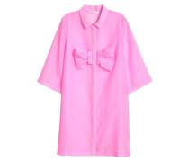 Kleid mit Schleife - Rosa