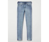 Super Skinny Regular Jeans - Hellblau