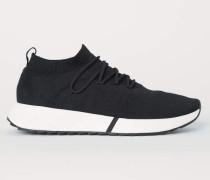Sneaker in Fully-Fashion - Schwarz