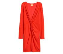 Figurbetontes Kleid - Rot