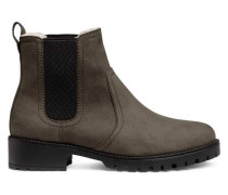 Chelseaboots mit warmem Futter - Taupe