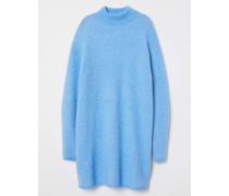 Pullover aus Wollmix - Hellblau