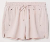 Kurze Shorts - Puderrosa