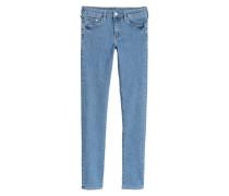 Skinny Low Jeans - Hellblau