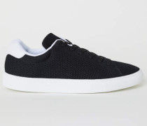 Fully-Fashion-Sneaker - Schwarz/WeiB