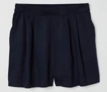 Weite Shorts - Dunkelblau