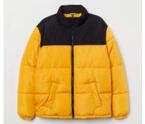 Wattierte Jacke - Gelb