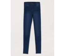 Super Skinny High Jeggings - Dunkelblau