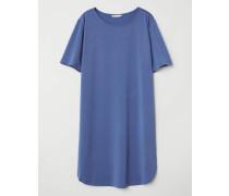 Kurzes Kleid - Graublau