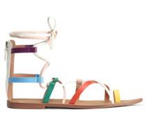 Mehrfarbige Sandalen - Mehrfarbig