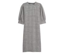 Kleid mit Puffärmeln - Schwarz