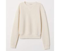 Sweatshirt - Hellbeige