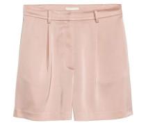 Hohe Shorts - Puderrosa