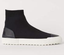 Fully-Fashion-Sneaker - Schwarz