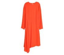 Asymmetrisches Kleid - Orange