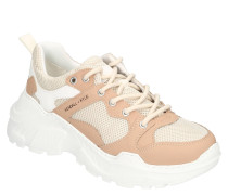 XL-Sneaker, Mesh-Besatz, Plateausohle, Zugschlaufe