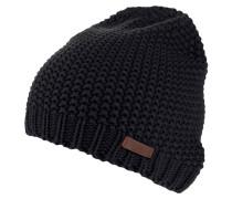 """Mütze """"Manou"""", Grobstrick, Logo-Patch"""
