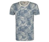 T-Shirt, Jersey, Allover-Print, Emblem
