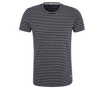 T-Shirt, Streifen-Look, Rundhalsausschnitt, Baumwolle