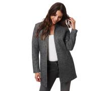 Mantel, leicht, Reverskragen, offene Front, Eingrifftaschen