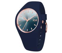 ICE sunset - Blue - Medium - 3H Damenuhr 15751