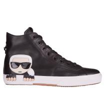 "Sneaker ""KAMPUS Mid Cut Boot Lthr"", Leder"
