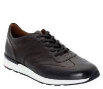 """Sneaker """"Ascar"""", Glattleder, Lochmuster"""