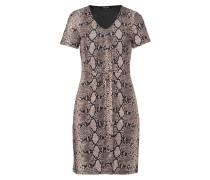 Kleid, Jersey, Schlangen-Print