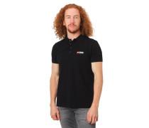 Poloshirt, Kurzarm, gummierter Logo-Print