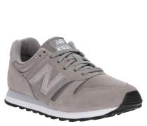 "Sneaker ""WL373GSP"", Veloursleder-Textil-Mix, Metallic-Effekt"