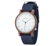 Armbanduhr Walter Walnut Dark Blue WATWWAL7210