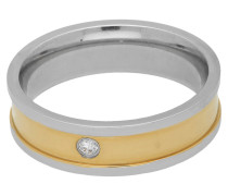 Titan Ring, multicolor, Zirkonia-Stein